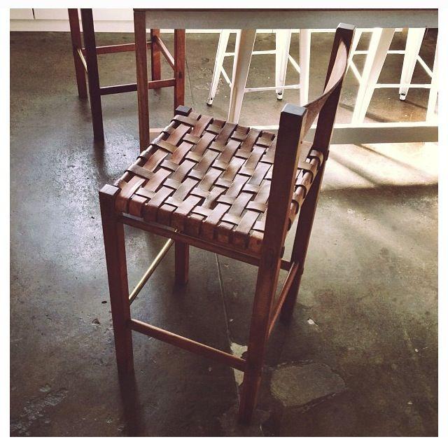 Woven Leather Bar Stool Nest Pinterest Bar Stools