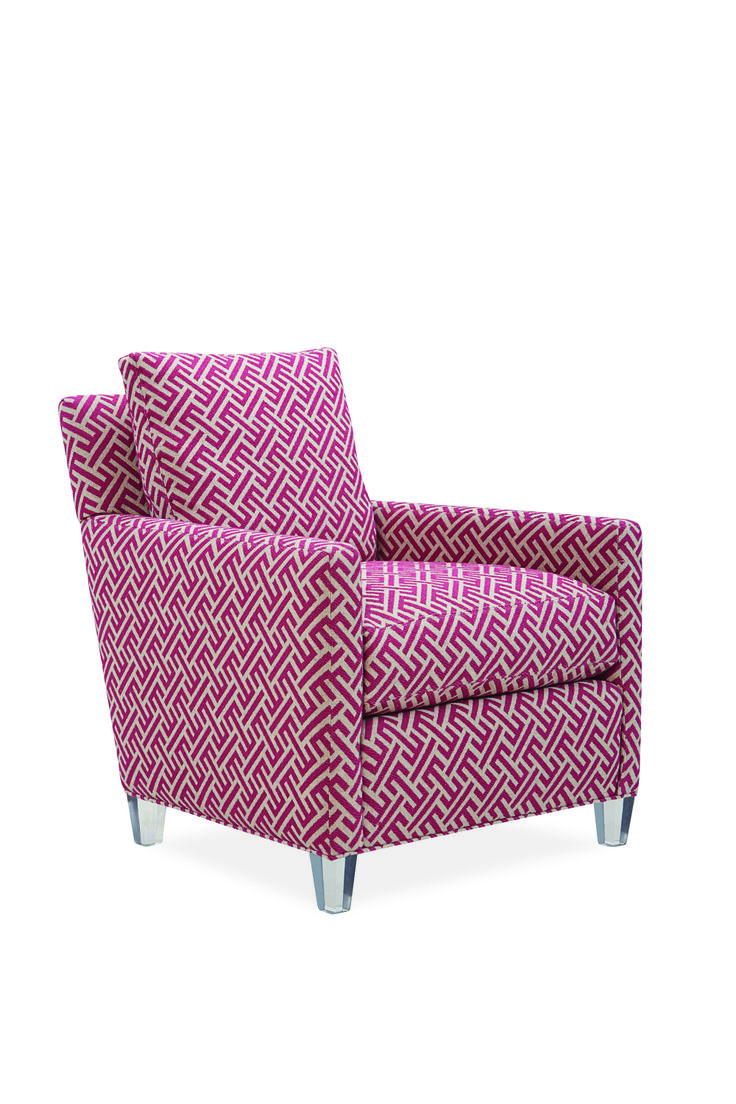 Mia Fuschia Chair From Lee Industries