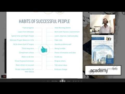 Useful Stuff - 004 - The Habits of Successful People - YouTube