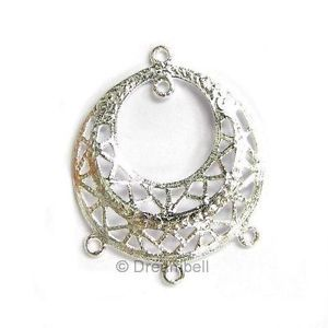9 best filigree findings images on pinterest chandelier earrings 2x sterling silver bead filigree chandelier earring wire connector aloadofball Gallery