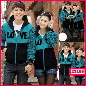 Jaket Couple Love Winter - Butik Pakaian