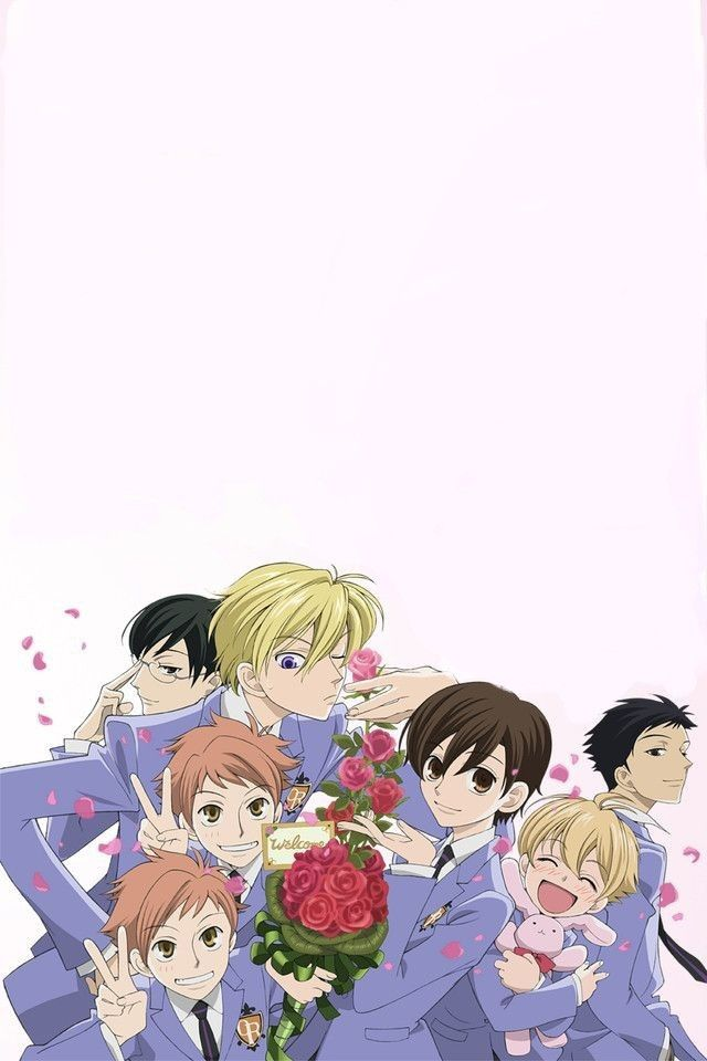 Ouran High Lock Screen Ouran Host Club High School Host Club