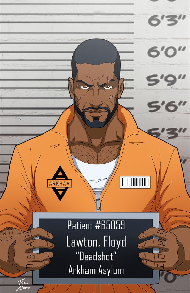 Floyd Lawton locked up by phil-cho.deviantart.com on @DeviantArt