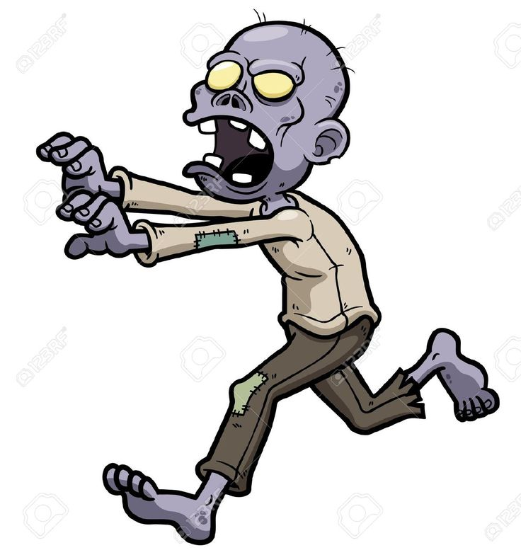 Zombie Cartoon Cliparts, Stock Vector And Royalty Free Zombie ...