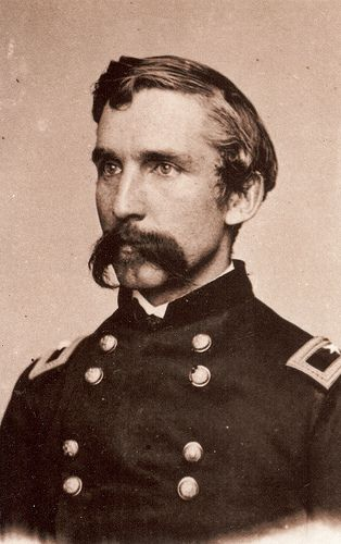 General Joshua Chamberlain, hero of Little Round Top at Gettysburg, winner of the Congressional Medal of Honor, professor of rhetoric, Governor of Maine, and  President of Bowdoin College.