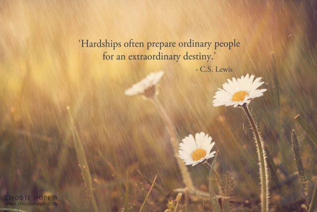C S Lewis Hardship Quote With Picture: 1000+ Images About Choose Hope Inspirational Cancer Quotes