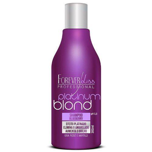 Shampoo Matizador 300ml   Platinum Blond   Forever Liss