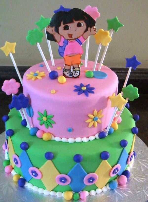 Birthday Dora Cake