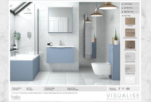 Visualise your dream bathroom.