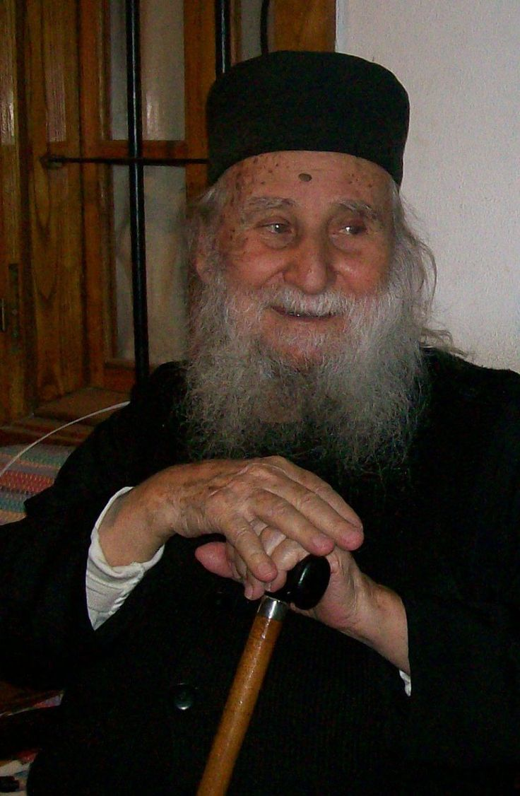 / Elder Joseph of Vatopaidi (+2009) Elder Joseph of Vatopaidi How did man used to live in Paradise?