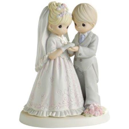 precious moments wedding cake topper