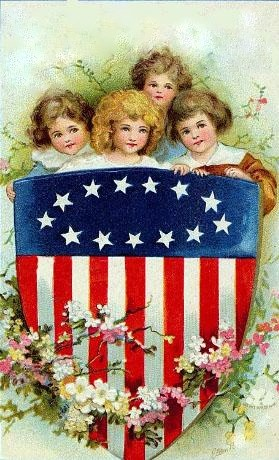 vintage fourth of july cards - Bing Images