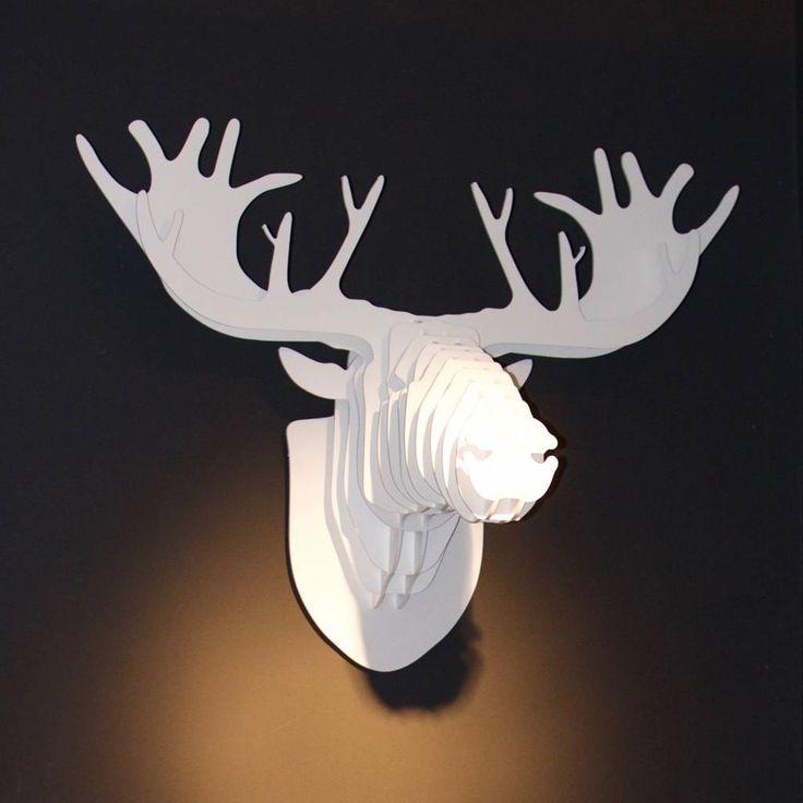 "Eland ""Moose"" small wit"