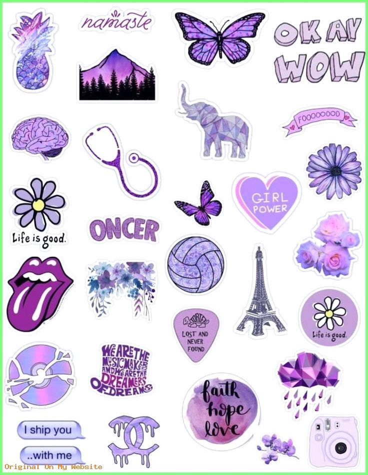 Wallpaper Backgrounds Beautiful – purple lavender lilac sticker pack tumblr pretty aesthetic …