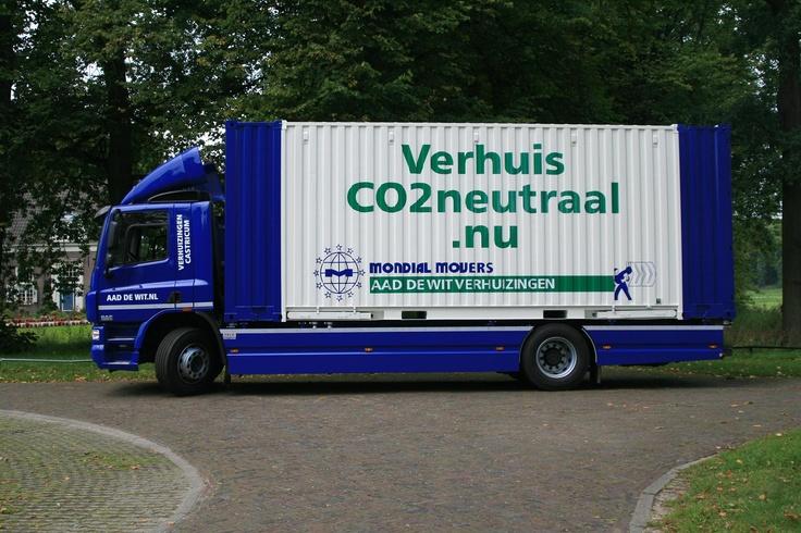 Verhuiswagen  Mondial Aad de Wit Verhuizingen