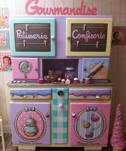 MamZelle Térébenthine peintre en décors relooking de meubles
