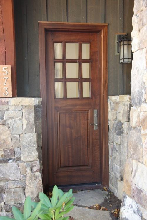 Garage entry doors for the home pinterest colors side door and wooden doors for Exterior garage doors