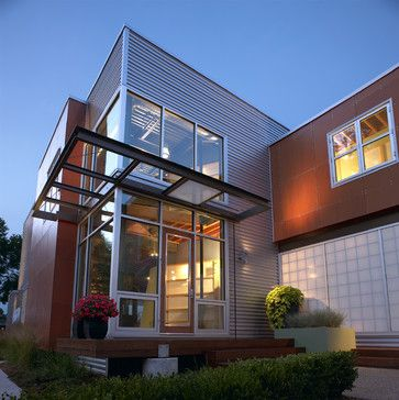 kevin akey modern exterior by kevin akey - Exterior Siding Design