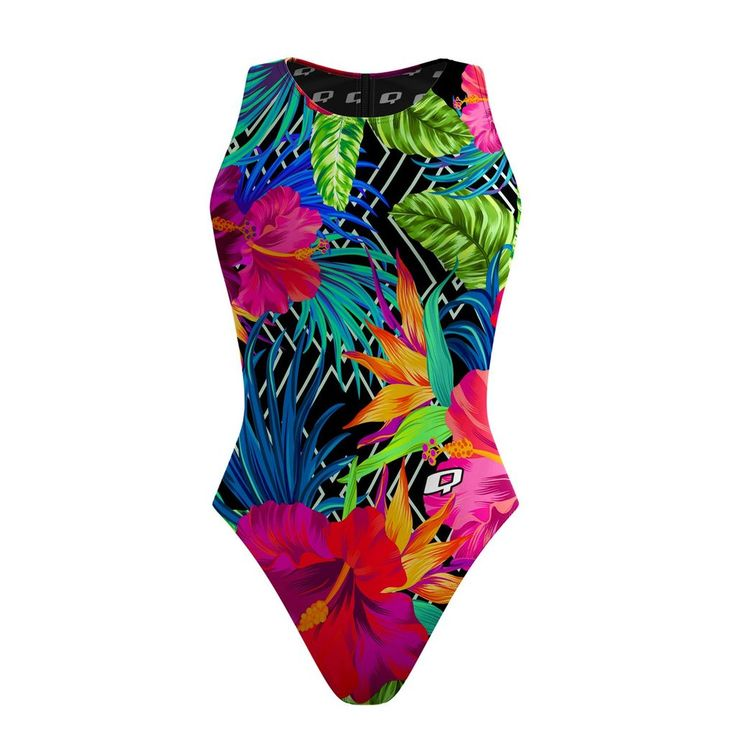All suits are made-to-order and will arrive 12-18 business days. Especially designed for Water Polo, difficult to grab due to its streamlined construction featuring an Ultra conservative back, wide straps for great coverage, High neckline, Tight fit for competitive advantage. It is made of Polyester and PBT, and it can last 10 to 20 times as long than traditional swimwear.    FABRICATION  Fabric Weight: 200 gr/sqcm 53% Polyester 47% Polyester PBT Lining 100% Polyester UV/SPF 50+ ...