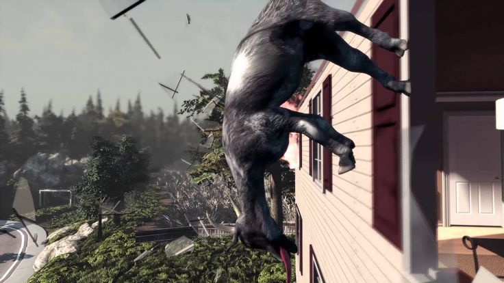 Official Launch Trailer for 'Goat Simulator' Video Game Offers a New Look at the Ridiculous Life of a Goat