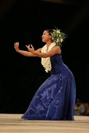 2014 Miss Aloha Hula - During the Merrie Monarch Festival  - Happens once a year
