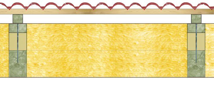 Szarufa feletti hőszigetelés vonalmenti hőhíd nélkül