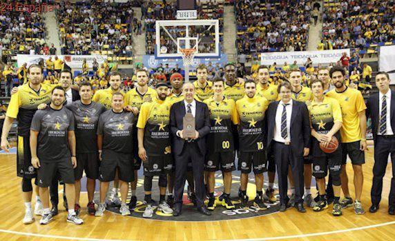 El Tenerife defenderá título en la Basketball Champions League