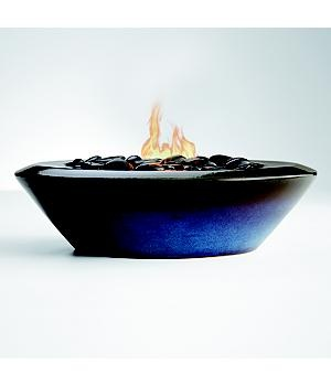 Ceramic fire bowl. Put on table top or concrete surface. $99.95