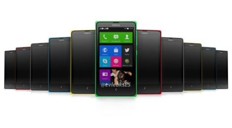 Nokia Normandy: More images leak, show home-screen and color options