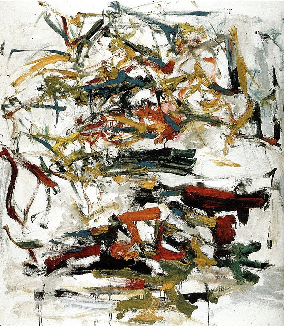 Joan Mitchell - Untitled, 1959.  Art Experience NYC  www.artexperiencenyc.com
