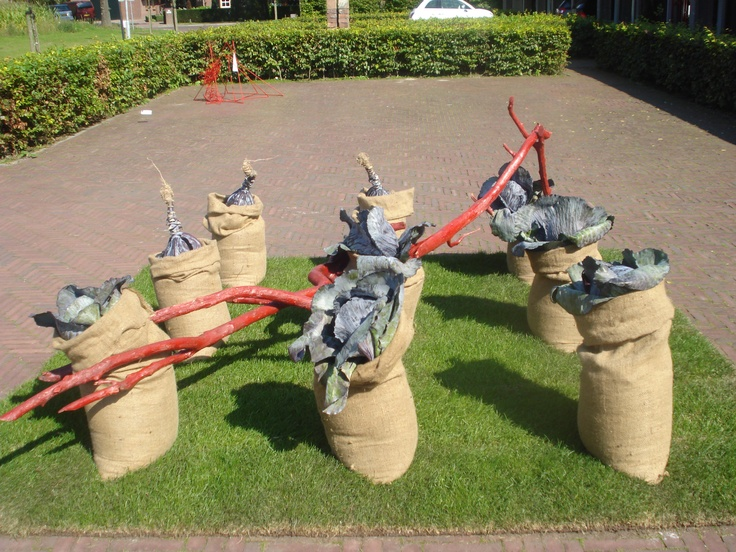 Groepswerk met rode kool: Groepswerk Met, Rode Kool, With Red