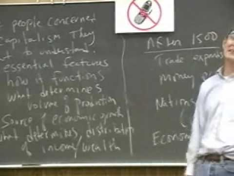 Economics 493 - History of Economic Thought - Fall 2008 - Lecture 1