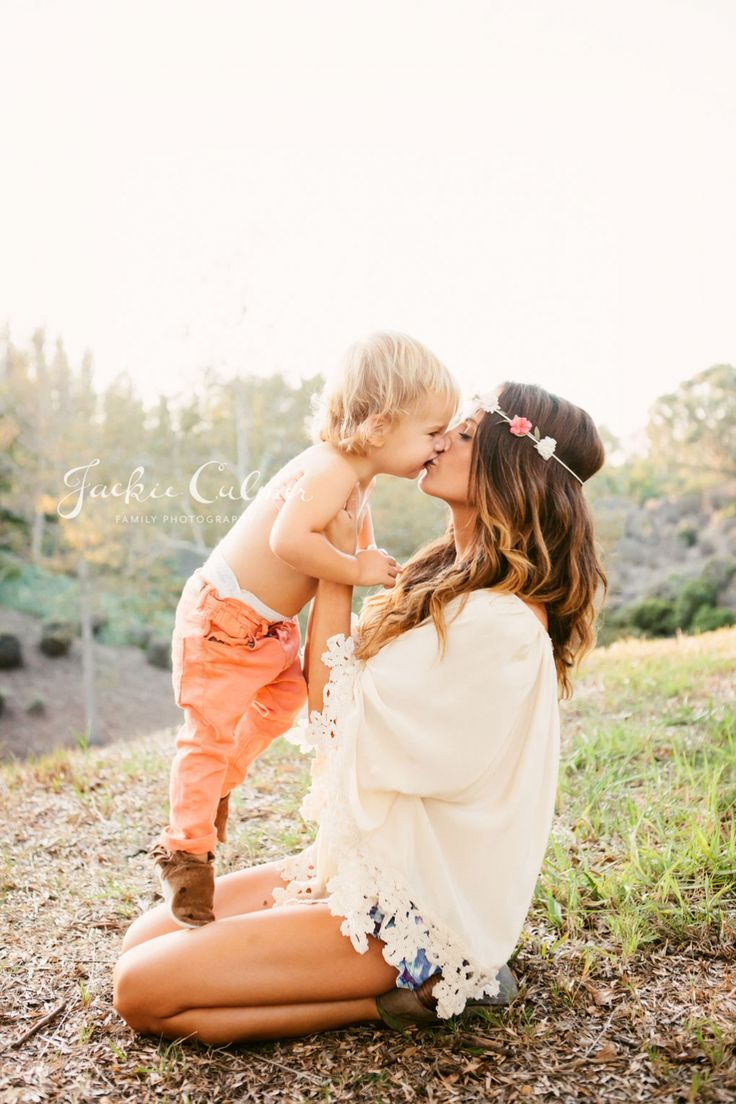 adorable... mother/son photo idea