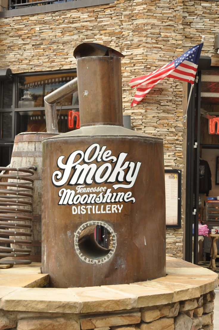 Ole Smoky Tennessee Moonshine Distillery - Visit the Ole Smoky Moonshine Distillery and learn the art behind making whiskey. http://www.visitmysmokies.com/attractions2/ole_smoky_moonshine_distillery