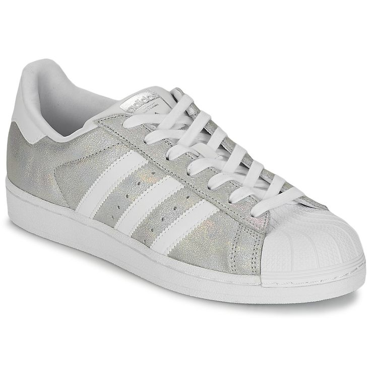 baskets basses adidas originals superstar w argent prix promo baskets femme spartoo. Black Bedroom Furniture Sets. Home Design Ideas