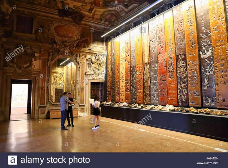 Exhibition 'Fiamma Inestinguibile' by Jean Boghossian at Venice Biennale 2017. La Biennale di Venezia. - JA9MGN from Alamy's library of millions of high resolution stock photos, illustrations and vectors.