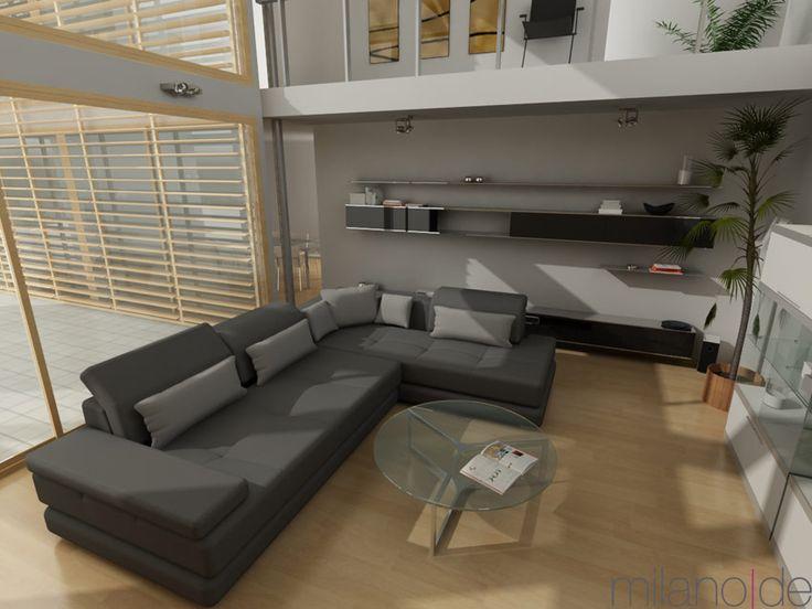 Γωνιακός καναπές Angelina