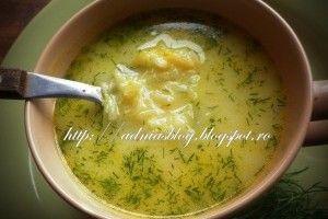 Reteta culinara Ciorba de dovlecei a la grec din Carte de bucate, Supe si ciorbe. Specific Romania. Cum sa faci Ciorba de dovlecei a la grec
