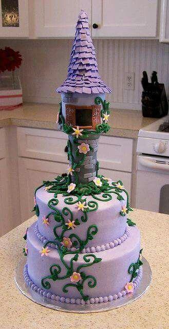 Rapunzel cake                                                                                                                                                                                 More