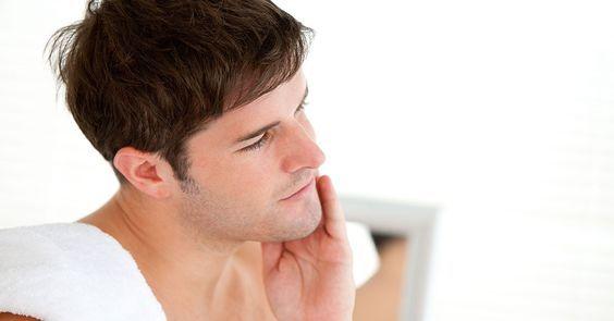 """""""Como acabar com espinhas e pele oleosa masculina """""""