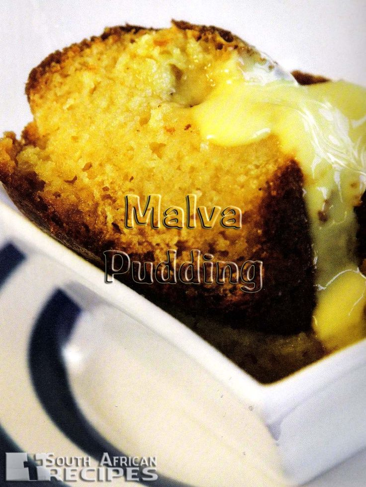 South African Recipes | MALVA PUDDING
