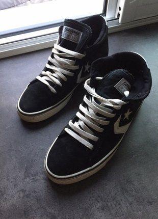 À vendre sur #vintedfrance ! http://www.vinted.fr/mode-hommes/baskets/37033173-chaussures-converse-homme-taille-42-homme-noires