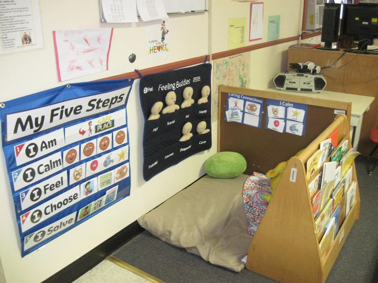 Safe Place - a center where children can go to change their inner state from upset to composed in order to optimize learning.