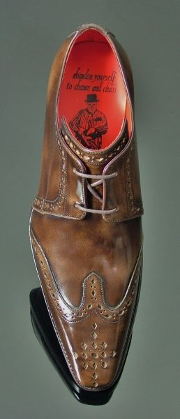 Moon - Classic Wing Gibson Pickled Walnut #Zapatos Jeffery West #Shoes