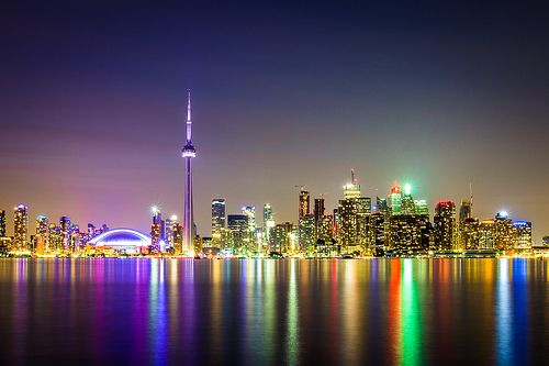 """""""Toronto Skyline"""" << I haven't been to Toronto in years.  Love visiting Chinatown and all the little shops there."""