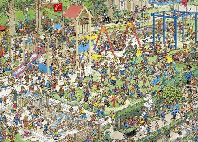 Jan van Haasteren: De Speeltuin (1000 stukjes)