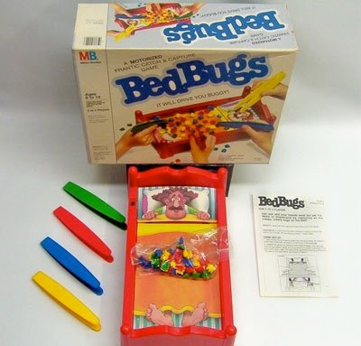 Bed Bug Game? Probably not the best for the kids. :)
