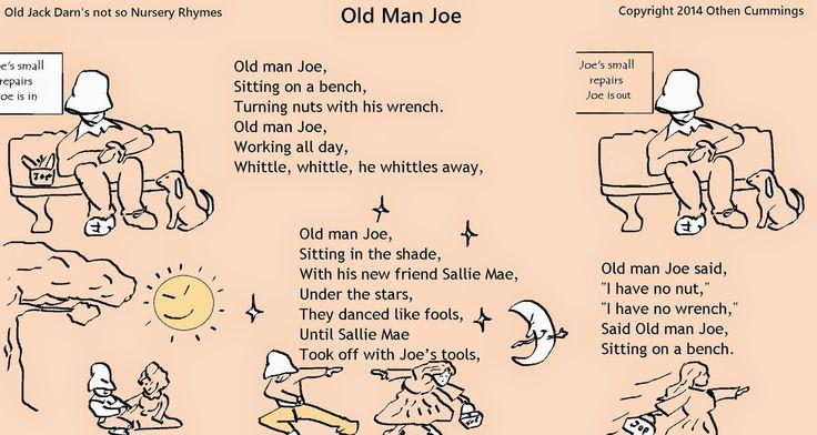 A Pet Banana: Jack Darn's not so Nursery Rhymes: Old Man Joe