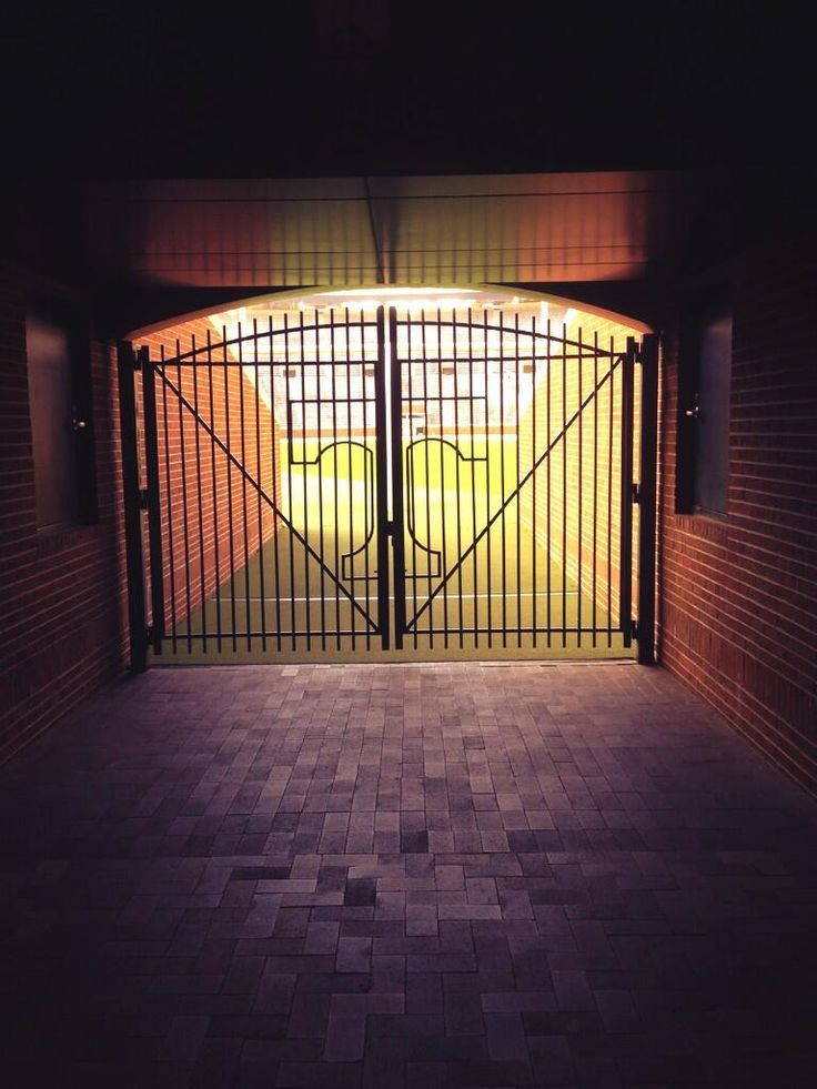 Gate into Neyland Stadium... My heart is excited for football season!