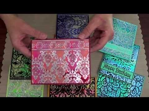 Elizabeth Craft Designs Shimmer Sheetz for Card Making Marianne Stone